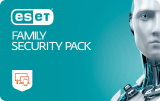ESET FAMILY Security Pack pro 3 PC a 3 mobily